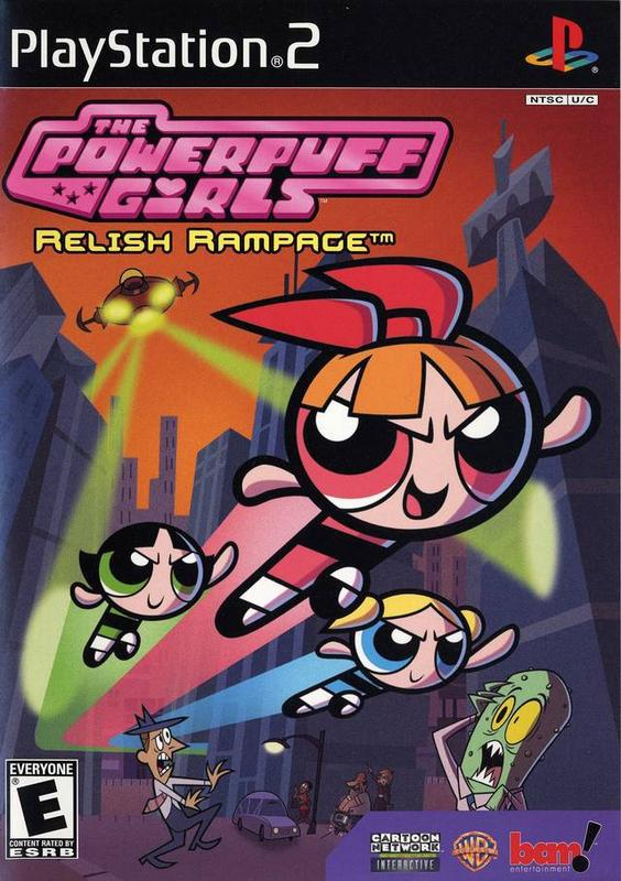The Powerpuff Girls Relish Rampage - PlayStation 2