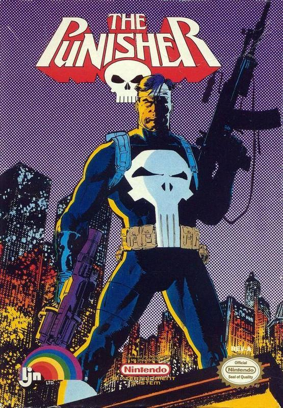 The Punisher - Nintendo Entertainment System