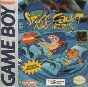 The Ren & Stimpy Show Space Cadet Adventures - Game Boy