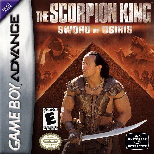 The Scorpion King Sword of Osiris - Game Boy Advance