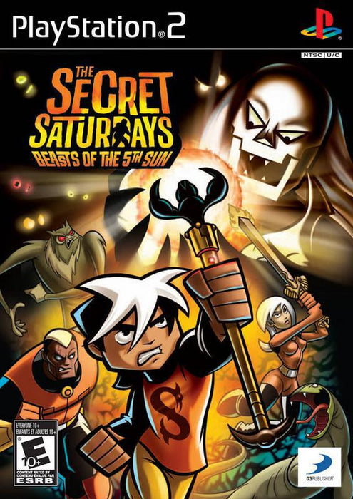 The Secret Saturdays Beasts of the 5th Sun - PlayStation 2