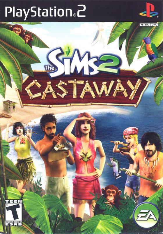 The Sims 2 Castaway - PlayStation 2
