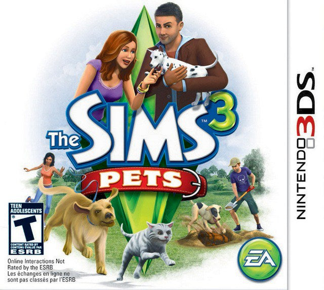 The Sims 3 Pets - Nintendo 3DS