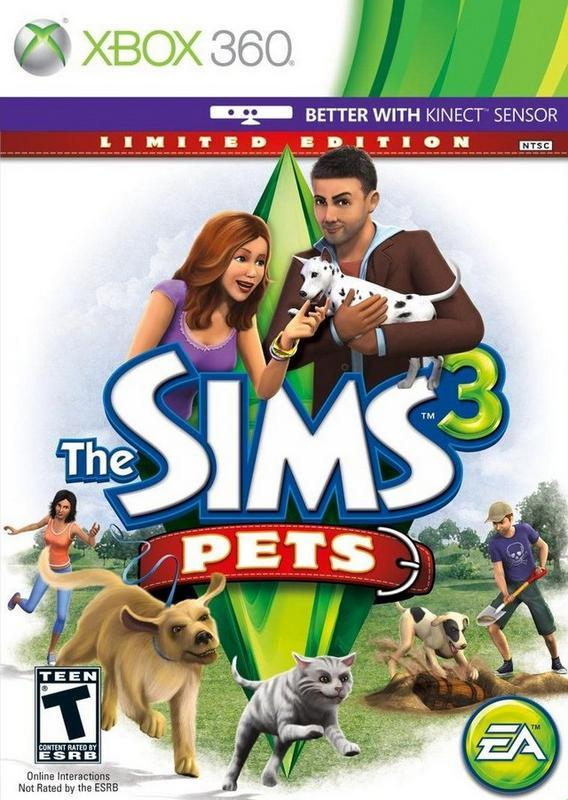 The Sims 3 Pets - Xbox 360