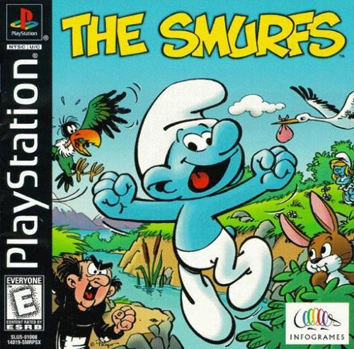The Smurfs - PlayStation 1