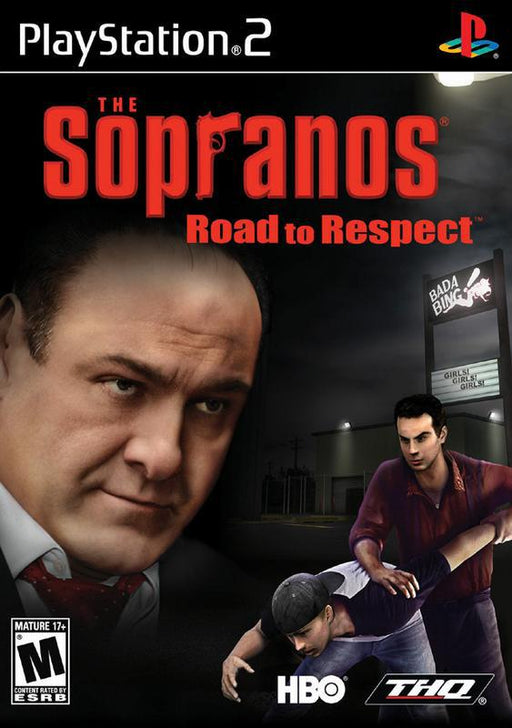 The Sopranos Road to Respect - PlayStation 2