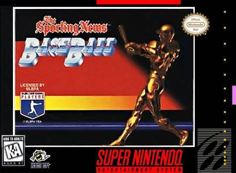 The Sporting News Baseball - Super Nintendo Entertainment System