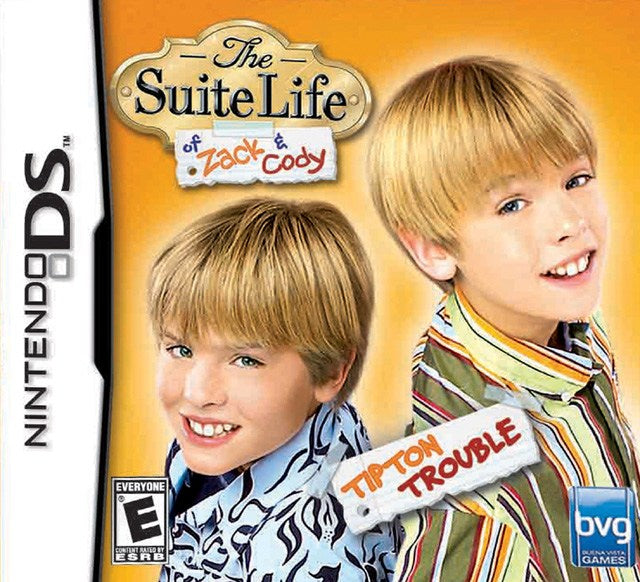 The Suite Life of Zack & Cody Tipton Trouble - Nintendo DS