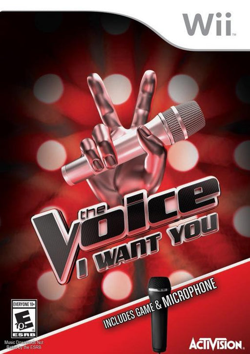 The Voice I Want You - Wii