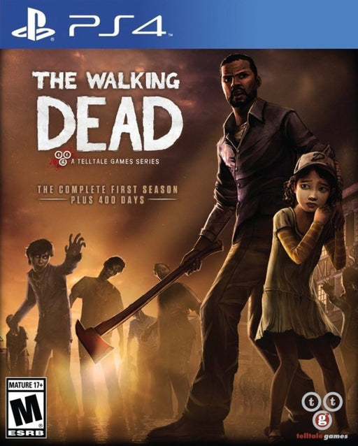 The Walking Dead A Telltale Games Series - The Complete First Season - PlayStation 4