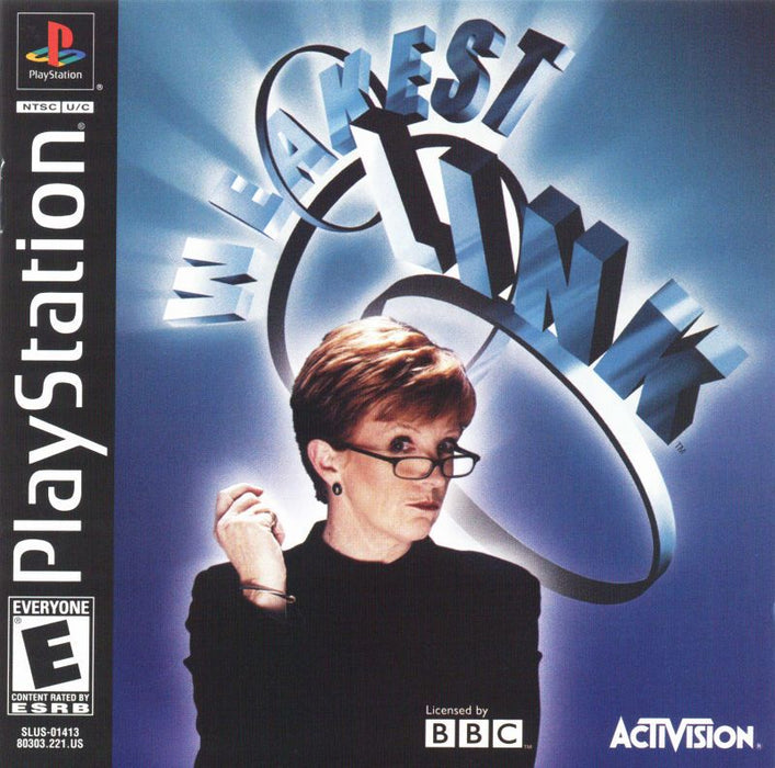 The Weakest Link - PlayStation 1