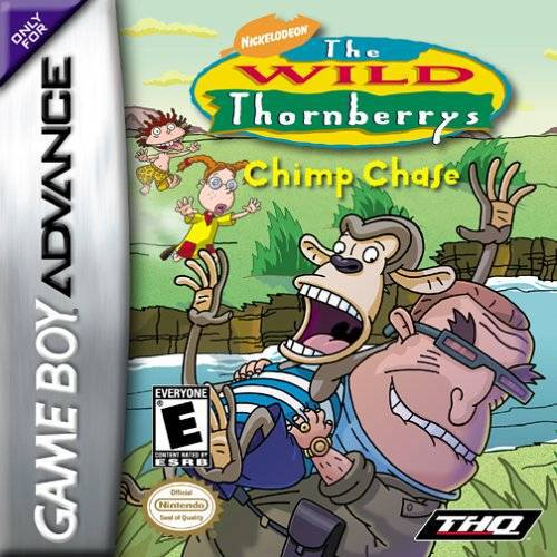 The Wild Thornberrys Chimp Chase - Game Boy Advance