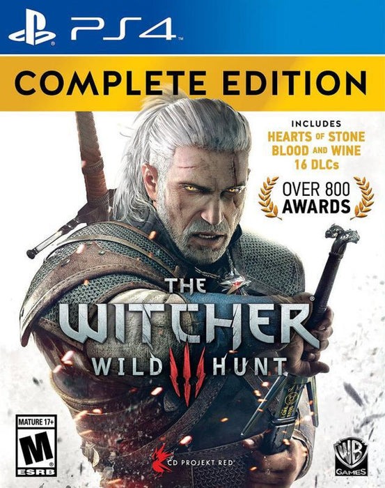 The Witcher 3 Wild Hunt - Complete Edition - PlayStation 4