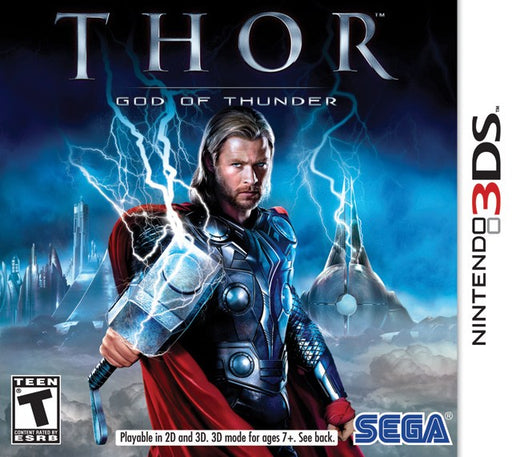 Thor God of Thunder - Nintendo 3DS