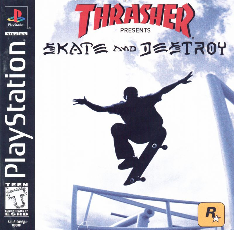 Thrasher Presents Skate and Destroy - PlayStation 1