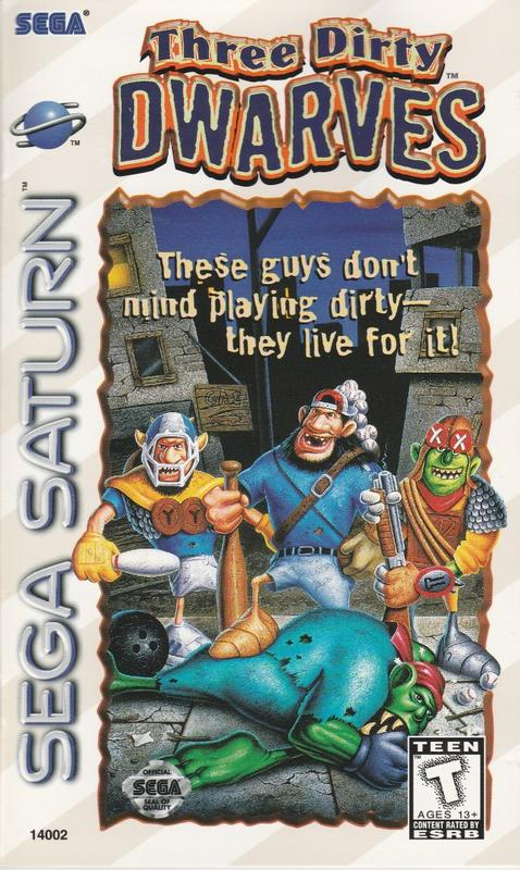 Three Dirty Dwarves - Sega Saturn