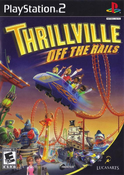 Thrillville Off the Rails - PlayStation 2