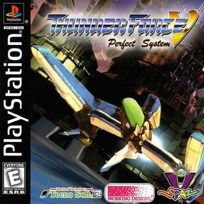 Thunder Force V - PlayStation 1