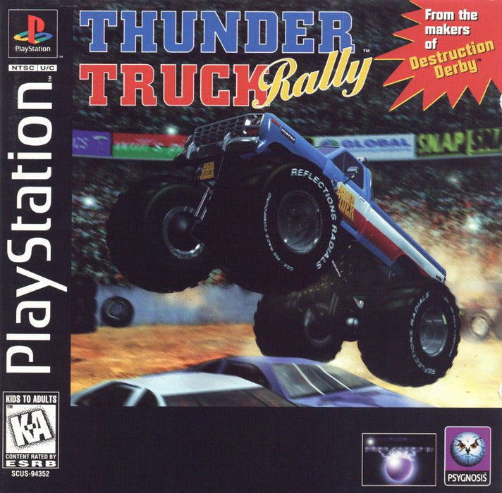 Thunder Truck Rally - PlayStation 1