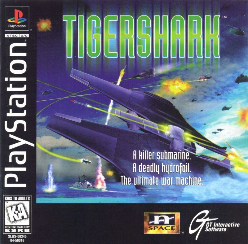 TigerShark - PlayStation 1