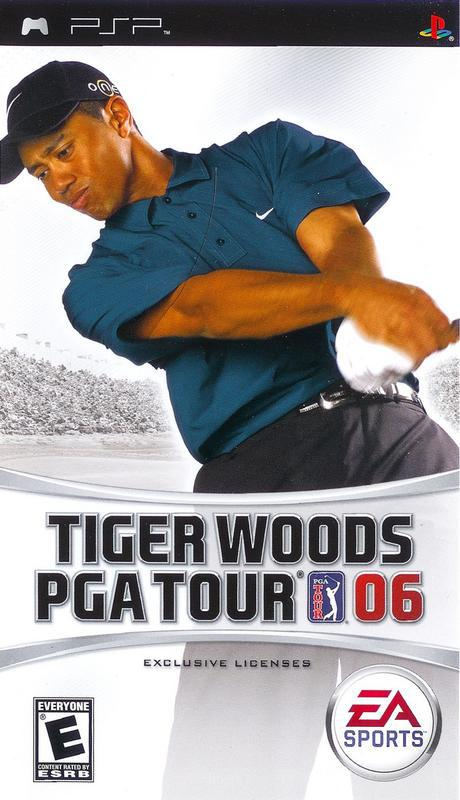 Tiger Woods PGA Tour 06 - PlayStation Portable