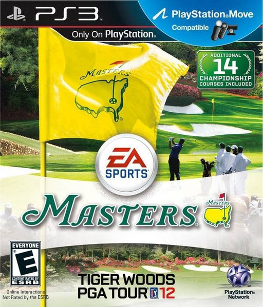 Tiger Woods PGA Tour 12 The Masters - PlayStation 3