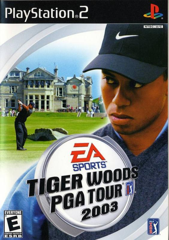 Tiger Woods PGA Tour 2003 - PlayStation 2