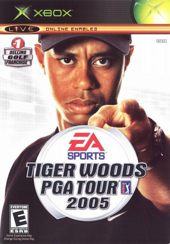 Tiger Woods PGA Tour 2005 - Xbox