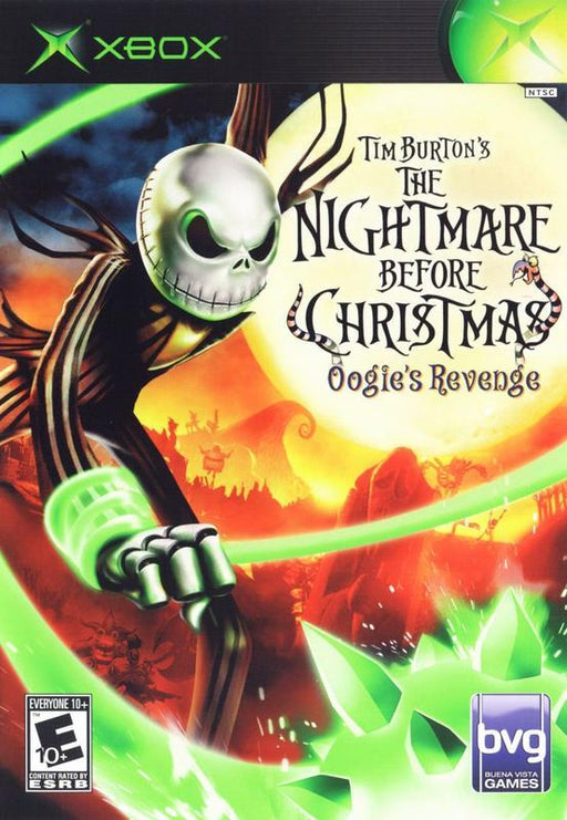 Tim Burtons The Nightmare Before Christmas Oogies Revenge - Xbox