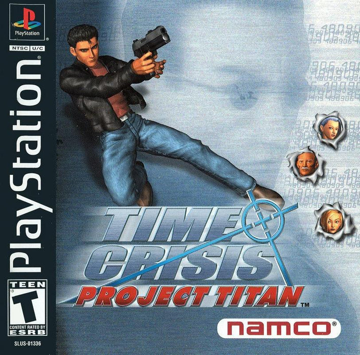 Time Crisis Project Titan - PlayStation 1