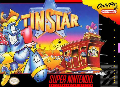 Tin Star - Super Nintendo Entertainment System