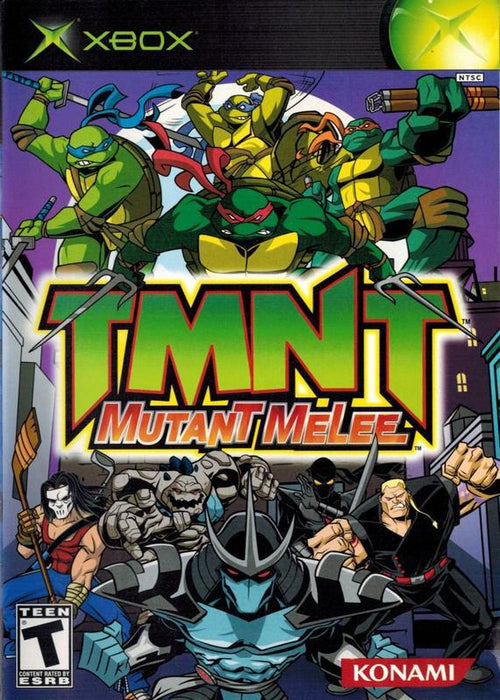 Teenage Mutant Ninja Turtles Mutant Melee - Xbox