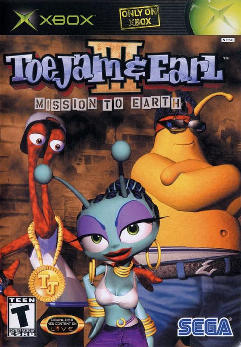 ToeJam & Earl III Mission to Earth - Xbox