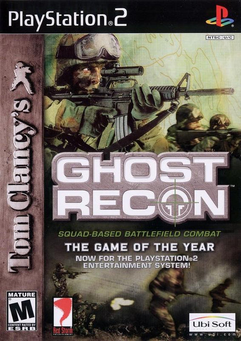 Tom Clancys Ghost Recon - PlayStation 2