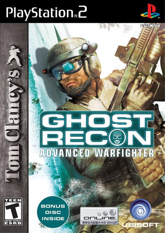 Tom Clancys Ghost Recon Advanced Warfighter - PlayStation 2