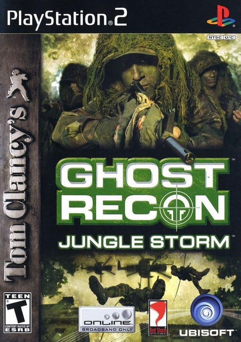 Tom Clancys Ghost Recon Jungle Storm - PlayStation 2