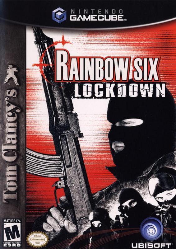 Tom Clancys Rainbow Six Lockdown - Gamecube