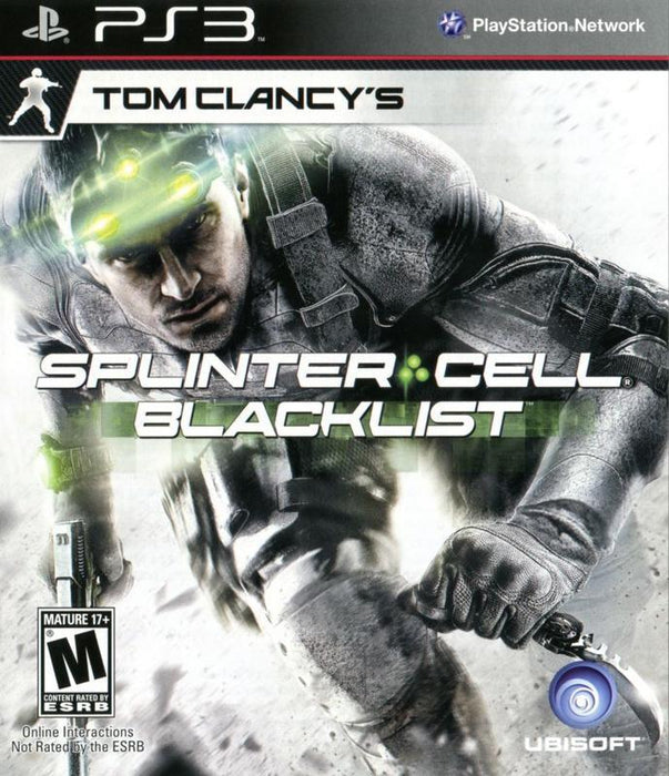 Tom Clancys Splinter Cell Blacklist - PlayStation 3