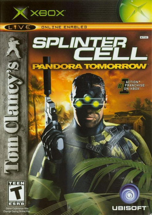 Tom Clancys Splinter Cell Pandora Tomorrow - Xbox