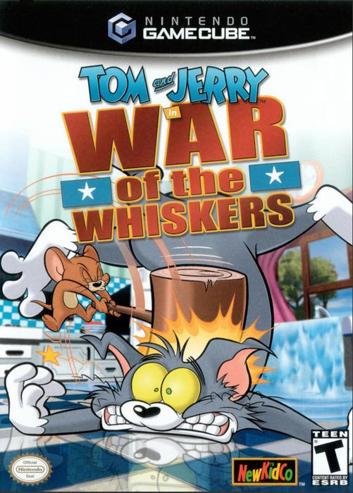 Tom and Jerry War of the Whiskers - Gamecube