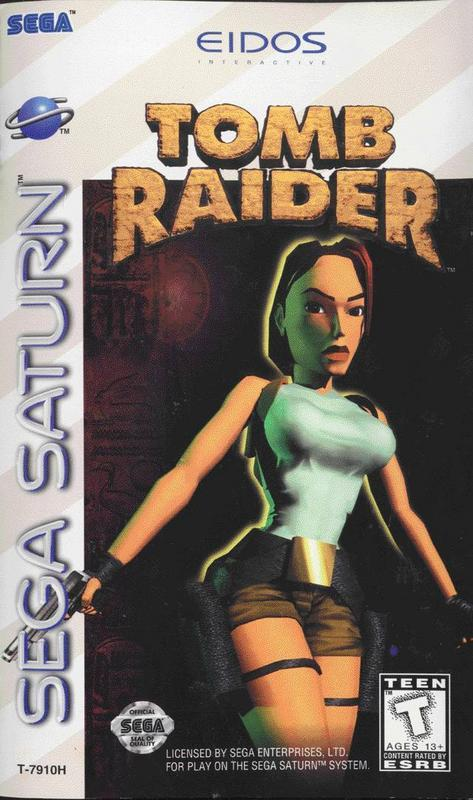 Tomb Raider - Sega Saturn