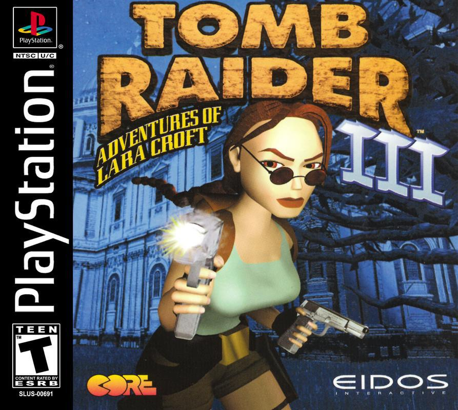 Tomb Raider III Adventures of Lara Croft - PlayStation 1