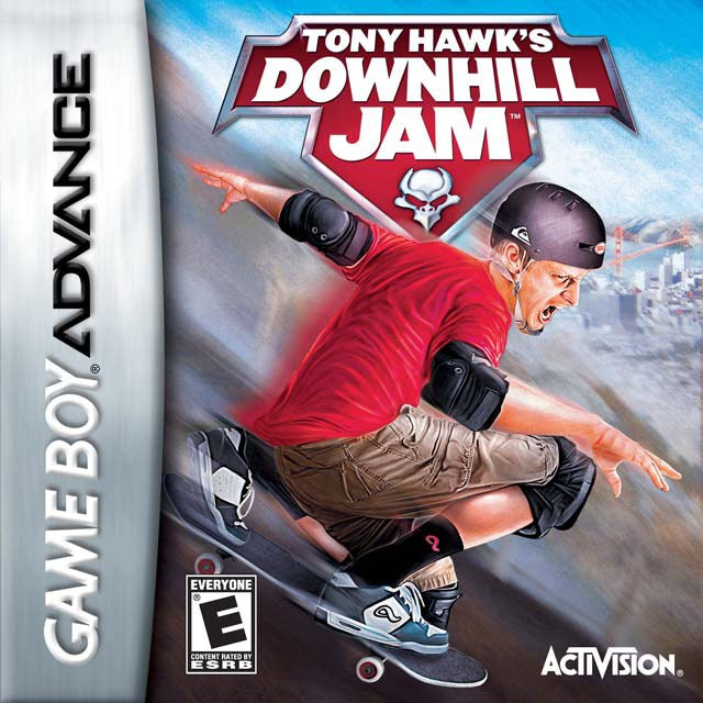Tony Hawks Downhill Jam - Game Boy Advance