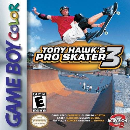 Tony Hawks Pro Skater 3 - Game Boy Color