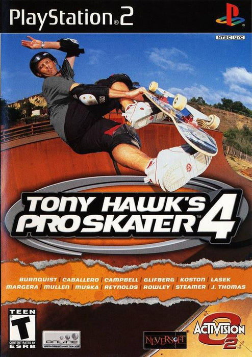 Tony Hawks Pro Skater 4 - PlayStation 2