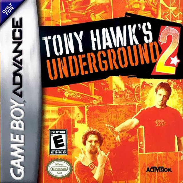 Tony Hawks Underground 2 - Game Boy Advance