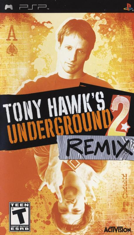 Tony Hawks Underground 2 Remix - PlayStation Portable