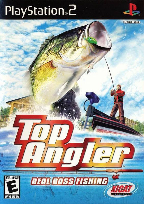 Top Angler Real Bass Fishing - PlayStation 2