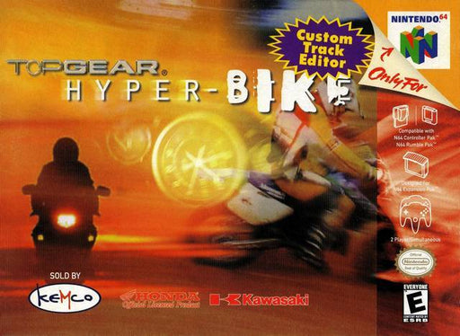 Top Gear Hyper-Bike - Nintendo 64