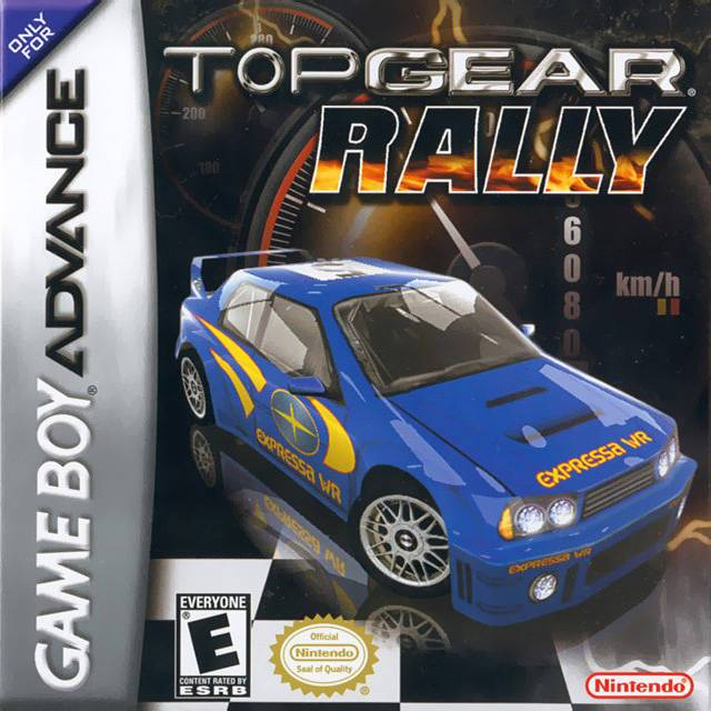 Top Gear Rally - Game Boy Advance